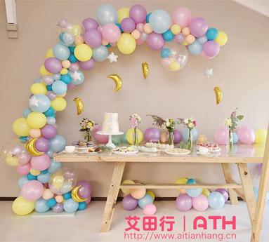 气球装饰结婚_艾田行丨ATH官网-气球装饰-【上海气球】上门布置-气球拱门_气球 ...